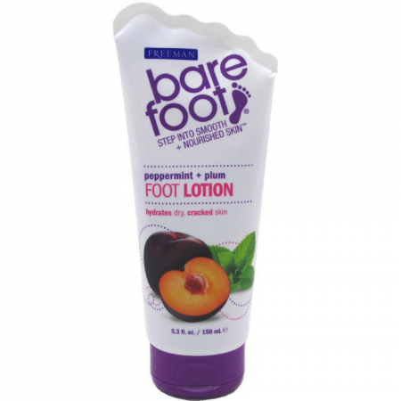 Freeman Bare Foot Smooth + Nourished Skin, Peppermint & Plum 5.30 oz [072151187701]