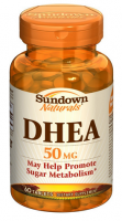 Sundown Naturals DHEA 50 mg Tablets 60 Tablets [030768050313]