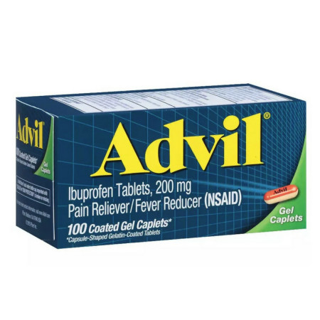 Advil Gel Caplets 100 Caplets [305730165402]