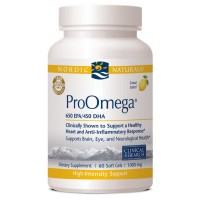 Nordic Naturals Pro Omega Dietary Supplement Softgels 60 ea [768990121203]