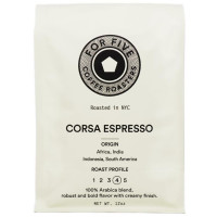 For Five Corsa Espresso Ground 12 oz [853473008291]