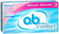 o.b. Pro Comfort Tampons Regular 18 Each [380041803007]