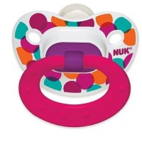 NUK TrendLine Orthodontic Pacifier Silicone 18+m 2 Each [885131628237]