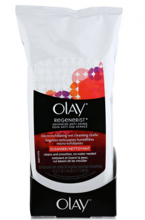OLAY Regenerist Advanced Anti-Aging Micro-Exfoliating Cleansing Cloths 30 Each [075609604041]