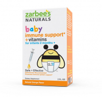 ZarBee's Naturals Baby Immune Support + Vitamins, Natural Orange Flavor 2 oz [898115002695]