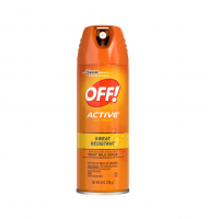 OFF! Active Insect Repellent, Sweat Resistant 6 oz [046500018107]