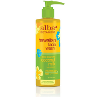 Alba Botanica Hawaiian Facial Wash, Deep Cleansing Coconut Milk 8 oz [724742008048]