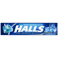 Halls Cough Suppressant/Oral Anesthetic Drops, Ice Peppermint 9 ea [312546629103]