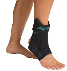 Aircast AirSport Ankle Brace, Left, Small [02MSL] 1 ea [744102000437]