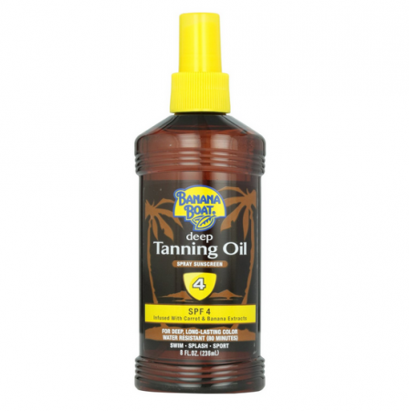 Banana Boat Deep Tanning Oil Spray Spf 4 8 Oz Pharmapacks