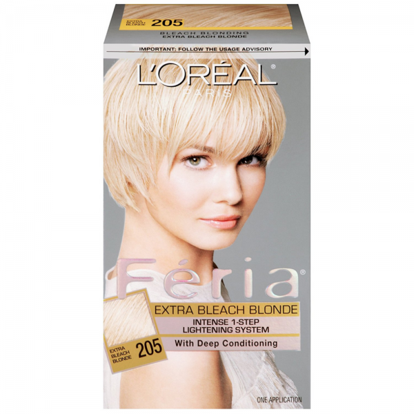 Loreal Paris Feria Intense 1 Step Lightening System Extra Bleach