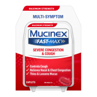 Mucinex Fast-Max Adult Severe Congestion and Cold Caplets, 20 Count [363824193205]