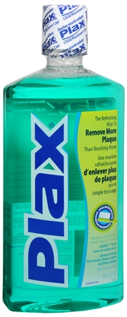 Plax Dental Rinse Soft Mint 24 oz [086414001963]