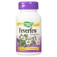 Nature's Way Feverfew Standardized Extract Capsules 60 ea [033674615003]