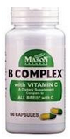 Mason Natural B Complex with Vitamin C 100 ea [311845053510]