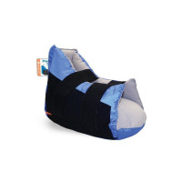 Prevalon Heel Protector Boot  I One Size Fits Most Black - Blue, 8 ea [618029720061]