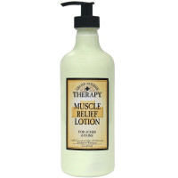 Village Naturals Therapy Muscle Relief Natural Lotion 16 oz [735303504312]