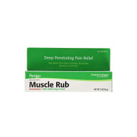 Perrigo Muscle Rub, Pain Relieving Cream, Extra, 3 oz [345802174536]