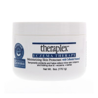 Theraplex Eczema Therapy - Moisturizing Skin Protectant with Natural Colloidal Oatmeal, Temporarily Relieves Itching Due to Eczema and Rashes, Noncomedogenic, and Hypoallergenic, Fragrance-Free - 6 oz