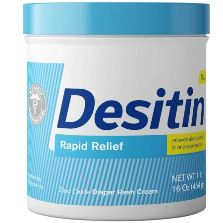 DESITIN Rapid Relief Diaper Rash Cream 16 oz [074300495163]