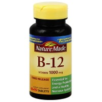 Nature Made Vitamin B-12 Timed Release Tablets, 1000 mcg 75 ea [031604027308]