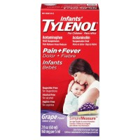 TYLENOL Infants' Tylenol Pain Relief Grape-Flavored Liquid  2 oz [300450122605]