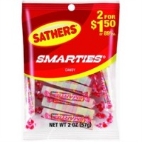 Sathers Smarties 12 pack (2 oz per pack)   [075602101400]