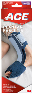 ACE Plantar Fasciitis Sleep Support One Size Adjustable 1 Each [051131198241]