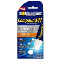 Compound W Maximum Freeze, Complete Wart Kit 1 ea [075137110571]