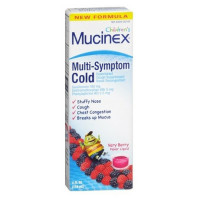 Mucinex Children's Multi-Symptom Cold Liquid Very Berry 4 oz [363824010649]