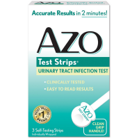AZO Test Strips Urinary Tract Infection Test 3 ea [787651032672]