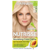 Garnier Nutrisse Haircolor, 111 Extra-Light Ash Blonde  [603084244751]