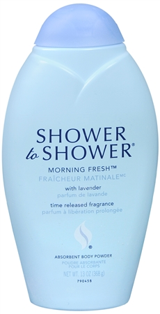 SHOWER TO SHOWER Body Powder Morning Fresh 13 oz [381370007432]