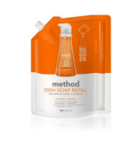 Method Dish Soap Refill Clementine 36 oz [817939011652]