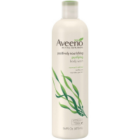 AVEENO Active Naturals Positively Nourishing Purifying Body Wash, Seaweed + Oatmeal 16 oz [381371155736]