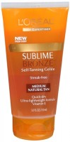 L'Oreal SUBLIME BRONZE Self-Tanning Gelee Medium-Natural 5 oz [071249080153]