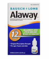 Bausch & Lomb Alaway Eye Itch Relief Drops 0.34 oz [310119022276]