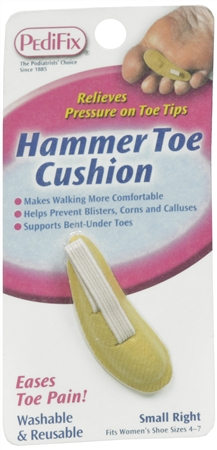PediFix Hammer Toe Cushion Small Right 1 Each [092437815418]