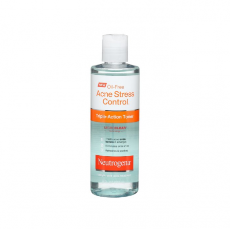 Neutrogena Oil-Free Acne Stress Control Triple Action Toner 8 oz [070501053454]