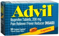 Advil 200 mg Coated Caplets 50 Caplets [305730160308]