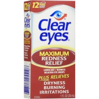 Clear Eyes Maximum Redness Relief Eye Drops 1 oz [678112255108]