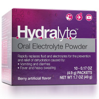 Hydralyte Oral Electrolyte Powder, Berry 10 ea [856069006046]