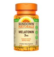 Sundown Melatonin 3 mg Tablets 60 ea [030768040055]