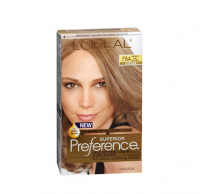 L'Oreal Superior Preference Hair Color [7-1/2A] Medium Ash Blonde (Cooler) 1 Each [071249253182]