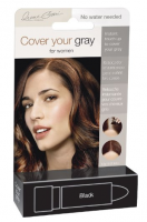Cover Your Gra for Women Touch Up Stick, Black, 0.25 oz [021959041135]
