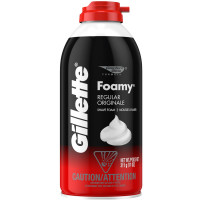 Gillette Foamy Shave Foam Regular 11 oz [047400240407]