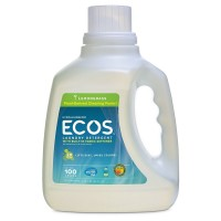 Earth Friendly Products Liquid Laundry Detergent, Lemongrass 100 oz [749174098900]