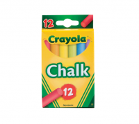 Crayola Chalk, Assorted Colors 12 ea [071662008161]