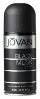 Jovan  Black Musk Deodorant Spray 5.0 oz [3607341046888]