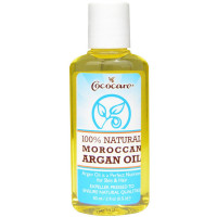 Cococare 100% Natural Moroccan Argan Oil 2 oz [075707094201]